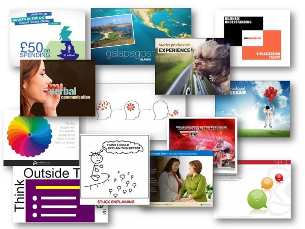 how to make a slide presentation from photos